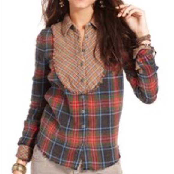 Free People Tops - Free People Washed Up  Flannel